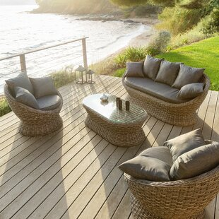 Liliath 5 Seater Rattan Sofa Set By Sol 72 Outdoor