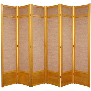 World Menagerie Clarke Shoji 6 Panel Room Divider