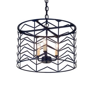 Bloomsbury Market Alsager 3-Light Drum Pendant