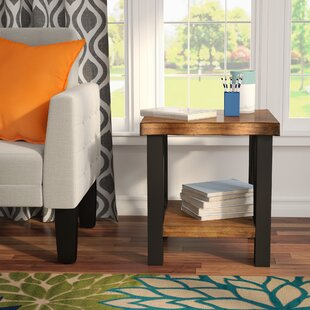 Garr End Table by Mercury Row