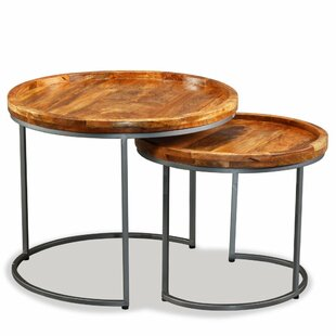 Affordable Baker 2 Piece Nesting Tables by Williston Forge