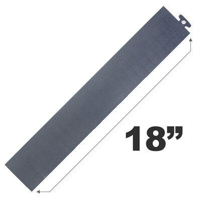 """18"""" Multi Purpose Ramp Edges In Gray Without Loops Blocktile"""