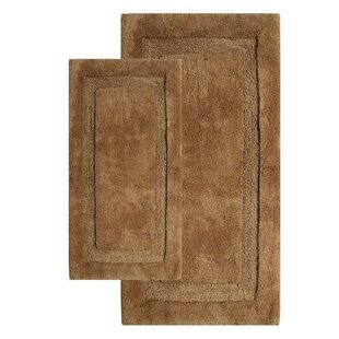 Deshawn Contemporary Bath Rug Set (Set of 2)