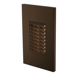 LBL Lighting Louver 1-Light Step Light