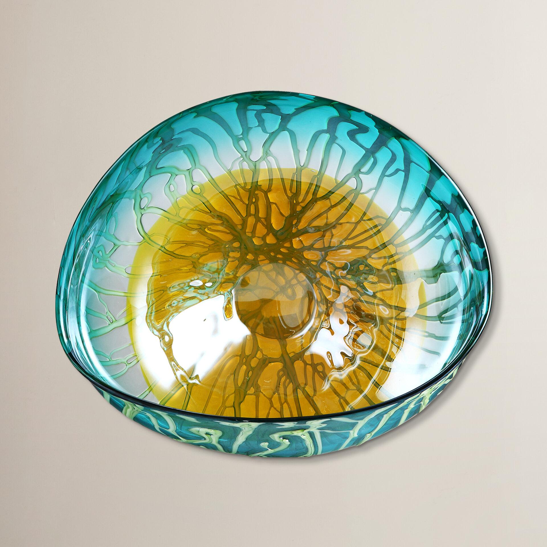Brayden Studio Modern Plate Glass Wall Decor | Wayfair