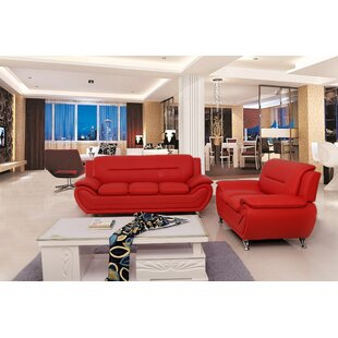 Best Deals Segura 2 Piece Living Room Set by Orren Ellis Reviews (2019) & Buyer's Guide