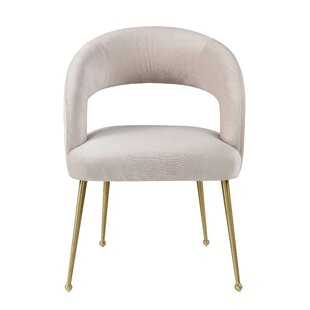 Newark Upholstered Dining Chair Everly Quinn