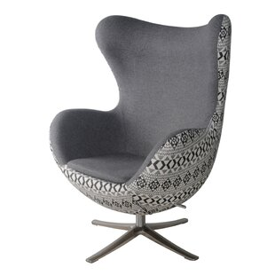 Brayden Studio Ledet Swivel Lounge Chair