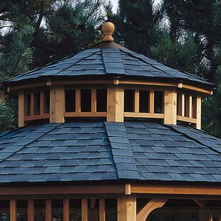 San Marino Two-Tier Roof for 12' W Gazebo by Handy Home