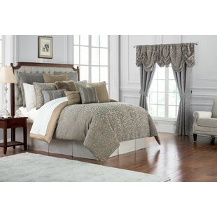 Carrick 4 Piece Reversible Comforter Set by Waterford Bedding