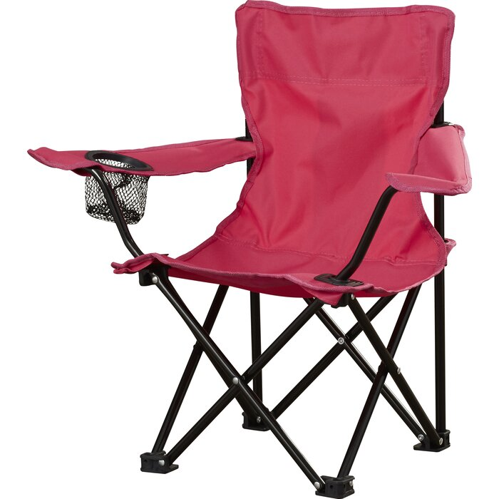 Enjoyable Crenshaw Folding Kids Camping Chair With Cup Holder Pdpeps Interior Chair Design Pdpepsorg