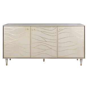 Clarkfield Wave Sideboard House of Hampton