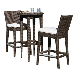 Soho 3 Piece Bar Height Dining Set