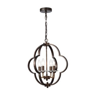 Charlton Home Deloris 4-Light Lantern Pendant