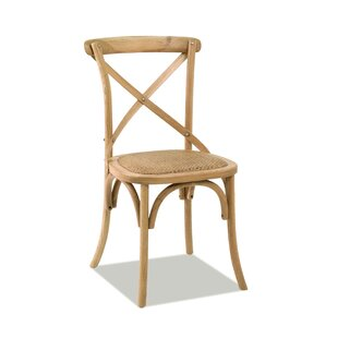 Longshore Tides Sandoval Solid Wood Dining Chair (Set of 2)