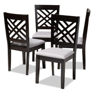 Bott Solid Wood Dining Chair (Set of 4)