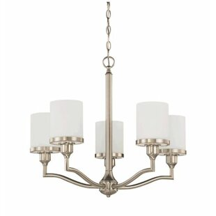 Breakwater Bay Ecklund 5-Light Shaded Chandelier