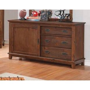 Scully 3 Drawer Double Dresser by Harriet Bee