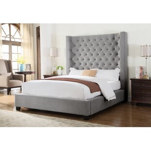Granville Upholstered Panel Bed by Brayden Studio