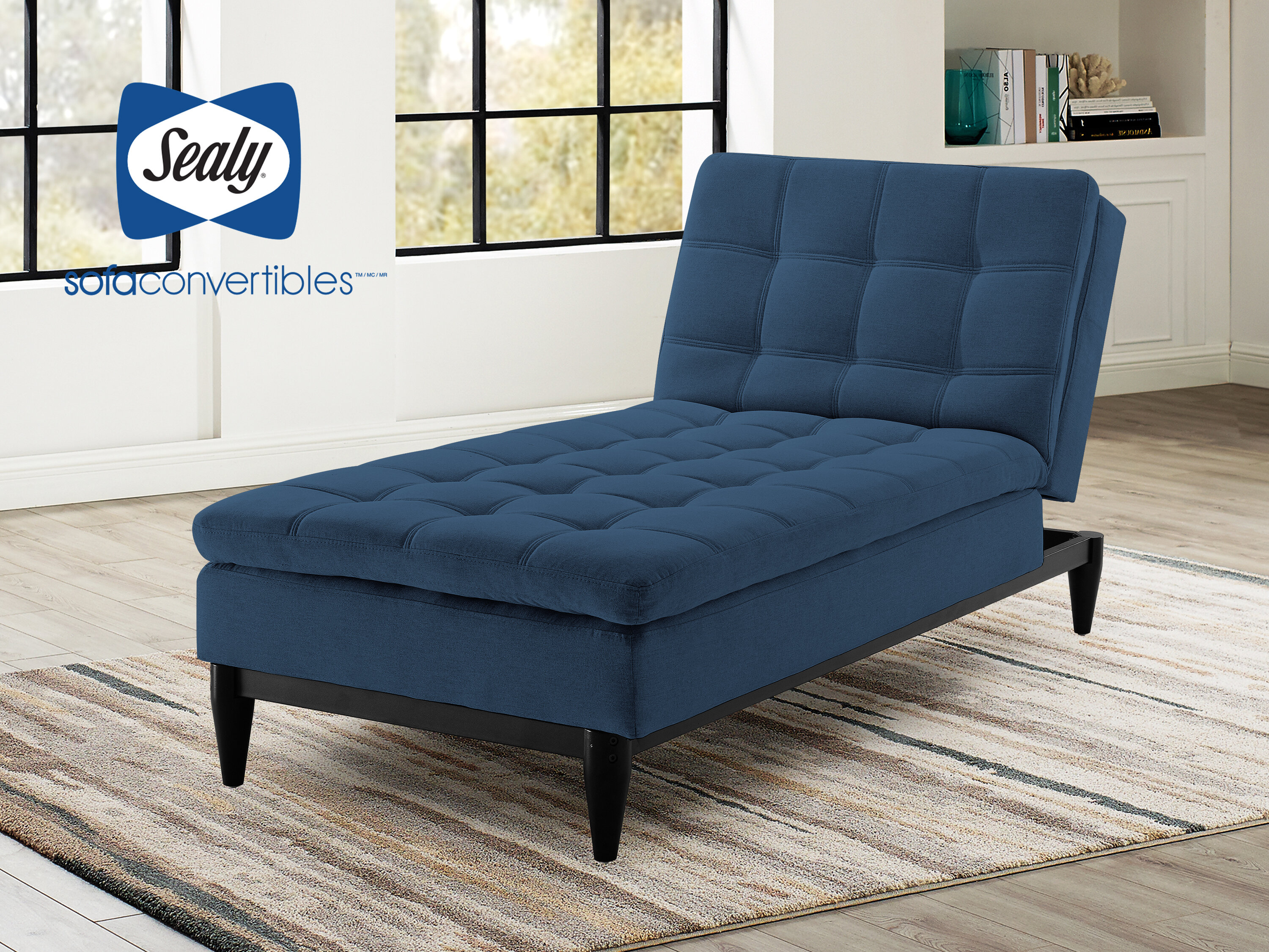 Sealy sofa convertibles montreal chaise lounge wayfair ca