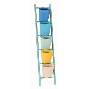 36,3 x 169 cm Badregal Ladder von Besp-Oak Furni..