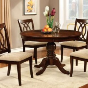 Landa 5 Piece Solid Wood Dining Set