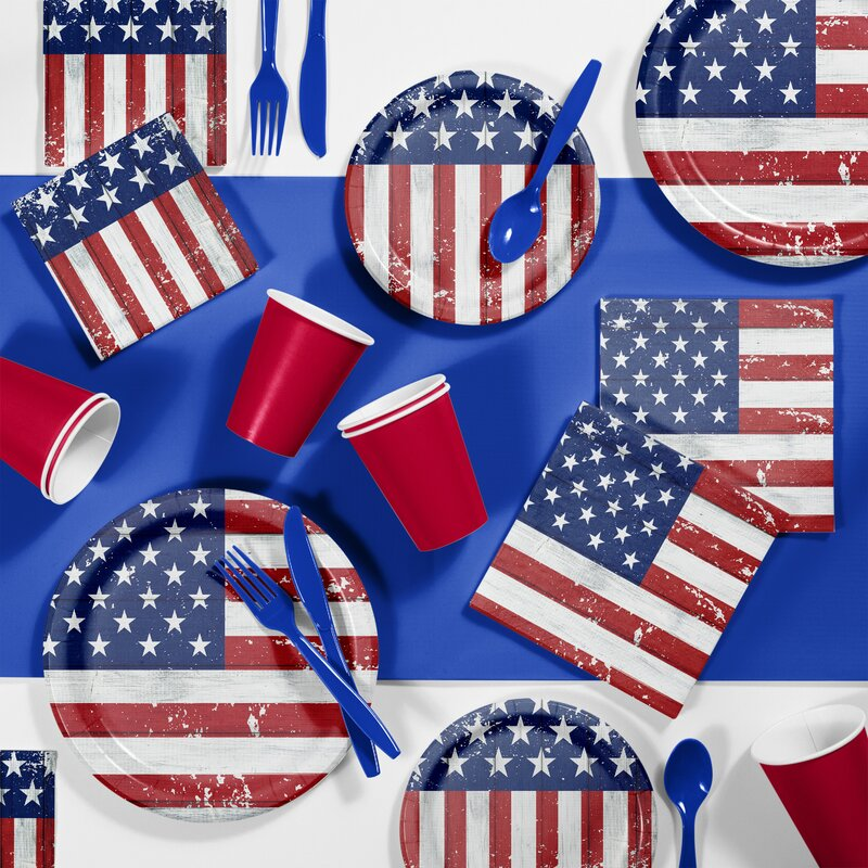 Patriotic Glory Tableware Set