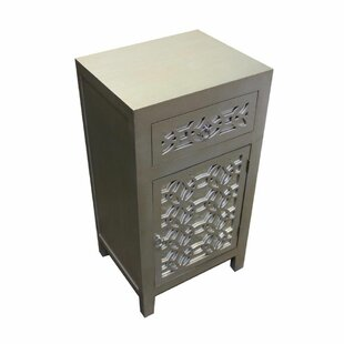 House of Hampton Palazzo Classy 1 Drawer Accent Cabinet