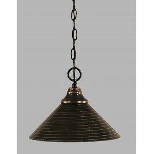 Carrizal 1-Light Bowl Pendant by Red Barrel Studio