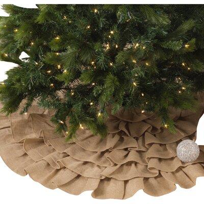Ruffled Tree Skirt The Holiday Aisle