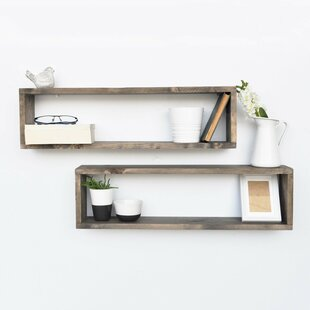 Shyann 2 Piece Floating Shelf Set By Union Rustic