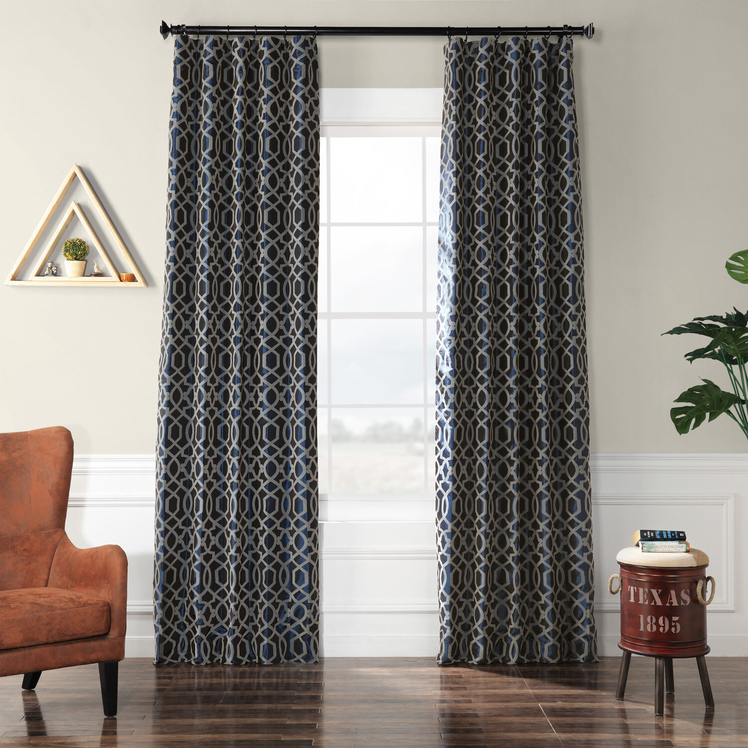 Geometric World Menagerie Curtains Drapes You Ll Love In 2021 Wayfair