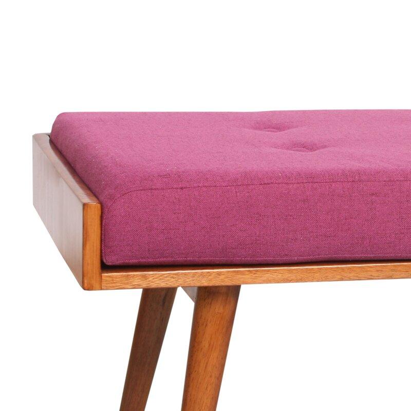 Porthos Home Aysel Upholstered Bench & Reviews | Wayfair
