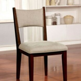 Mohr Mid Century Modern Padded Upholstered Dining Chair (Set of 2) Winston Porter