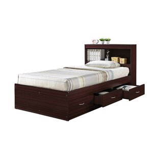 Airdrie Twin Captain's Bed with 3 Drawers by Harriet Bee