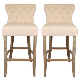 Icarus 74cm Barstool (Set Of 2) By August Grove