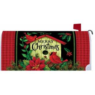 Christmas Birdhouse Mailbox Cover By Custom Decor