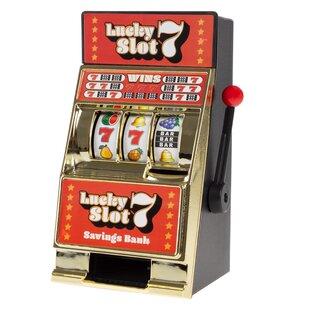 Lighted casino cherry slot machine bank bond casino clothing