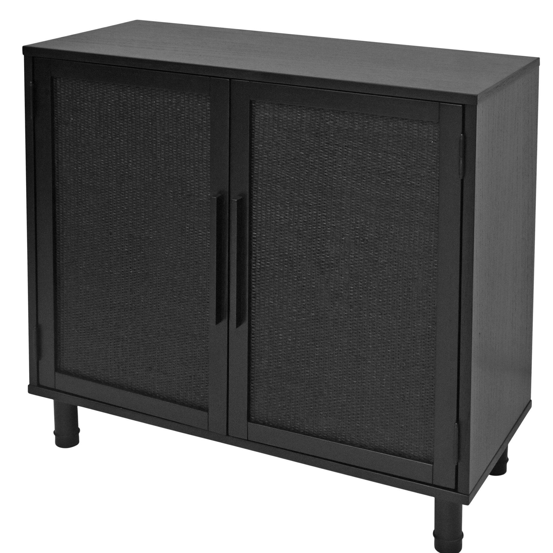 Hopper Studio Delancey 2 Door Accent Cabinet & Reviews | Wayfair