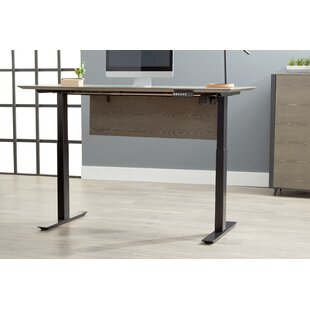 Francella Adjustable Standing Desk by Comm Office Read Reviews