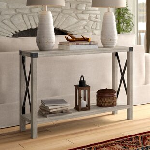 Small Modern Contemporary Console Table Display Accent White Entryway Slim NEW
