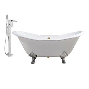 Streamline Bath Cast Iron 72