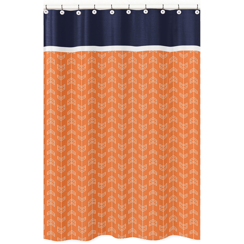 Sweet Jojo Designs Arrow Shower Curtain