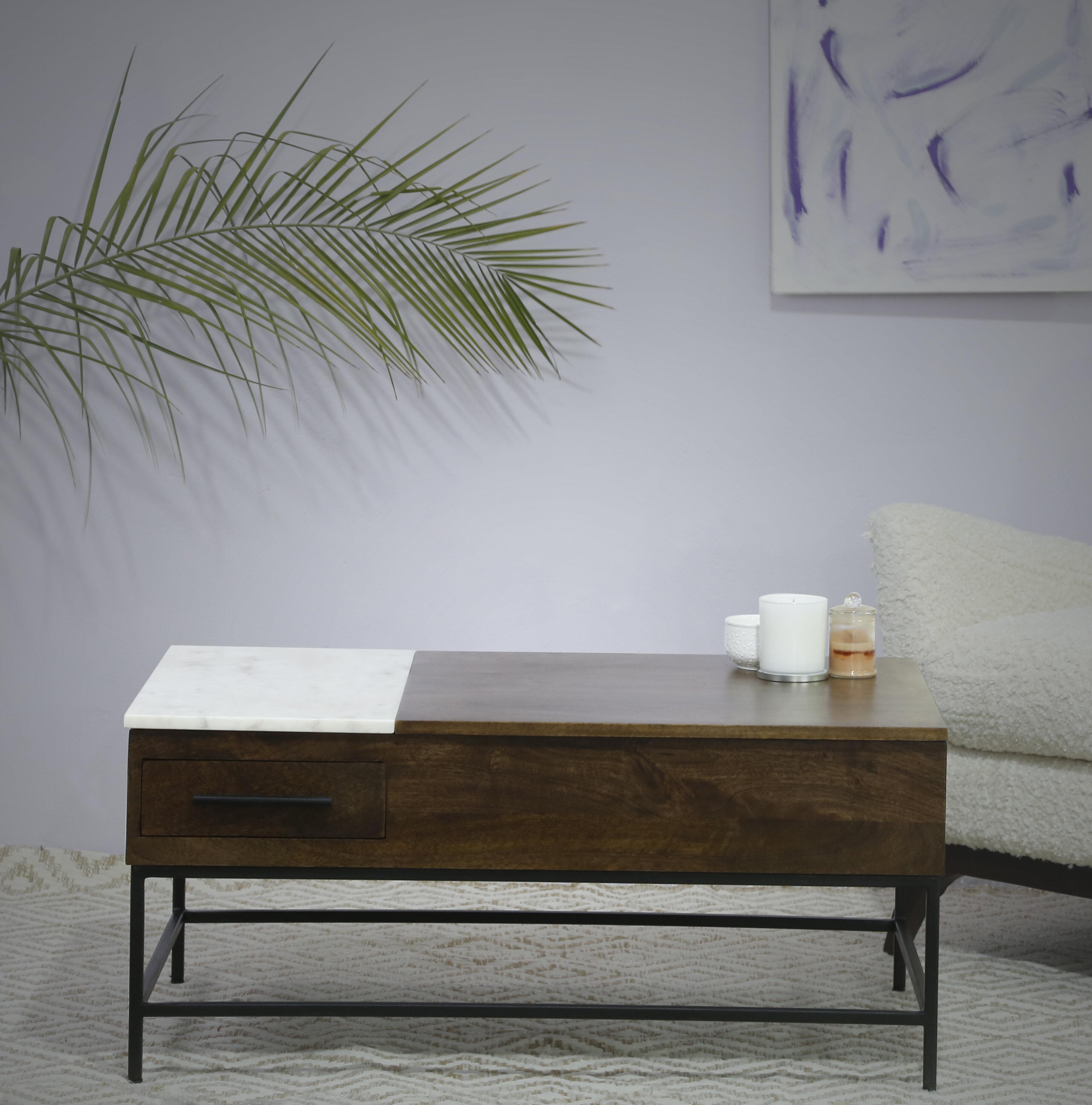 Loon Peak Sease Lift Top Coffee Table With Storage Wayfair