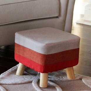 Wrought Studio Garland Tufted Ottoman