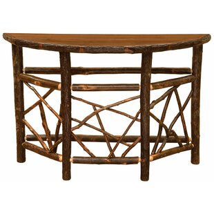 Fireside Lodge Hickory Console Table