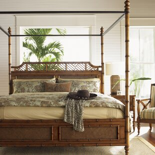 Island Estates Canopy Bed by Tommy Bahama Home Design