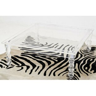 Charmant Lucite Beverly Hills Coffee Table