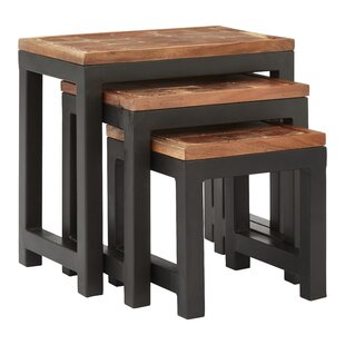 Earley 3 Piece Nest Of Tables By Bloomsbury Market