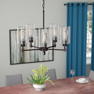 Ivy Bronx Cristian 5-Light Shaded Chandelier